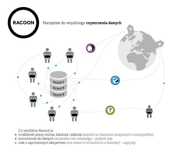 Jak działa system doczyszczenia danych Racoon