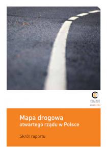 Mapa drogowa otwartego rządu w Polsce