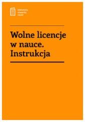 Wolne licencje wnauce. Instrukcja
