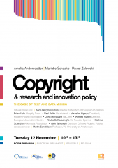 The Case of Text and Data Mining, konferencja wPE podsumowująca rok prac nadreformą prawa autorskiego
