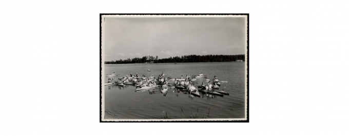 Judel Rotsztejn, zdjęcie kanału Augustowskiego,  Biblioteka Narodowa, domena publiczna