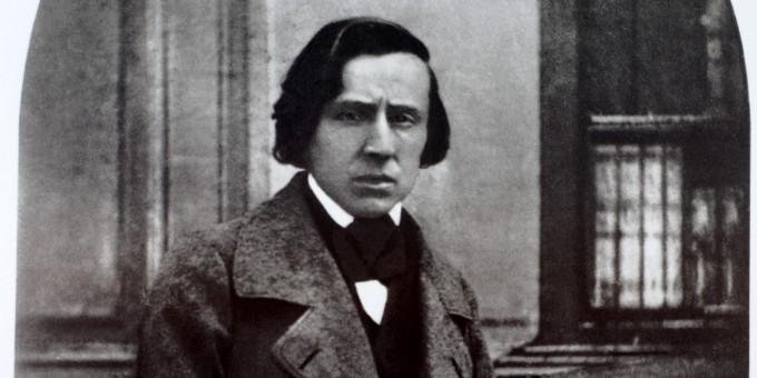 Zdjęcie Chopina zrobione przezLouis-Auguste Bisson, domena publiczna