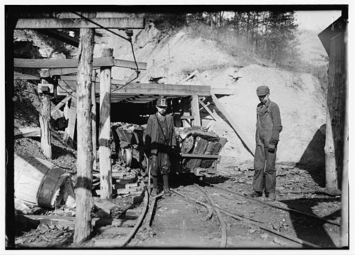 domena publiczna, https://commons.wikimedia.org/wiki/File:Coal-creek-mine-tn2.jpg