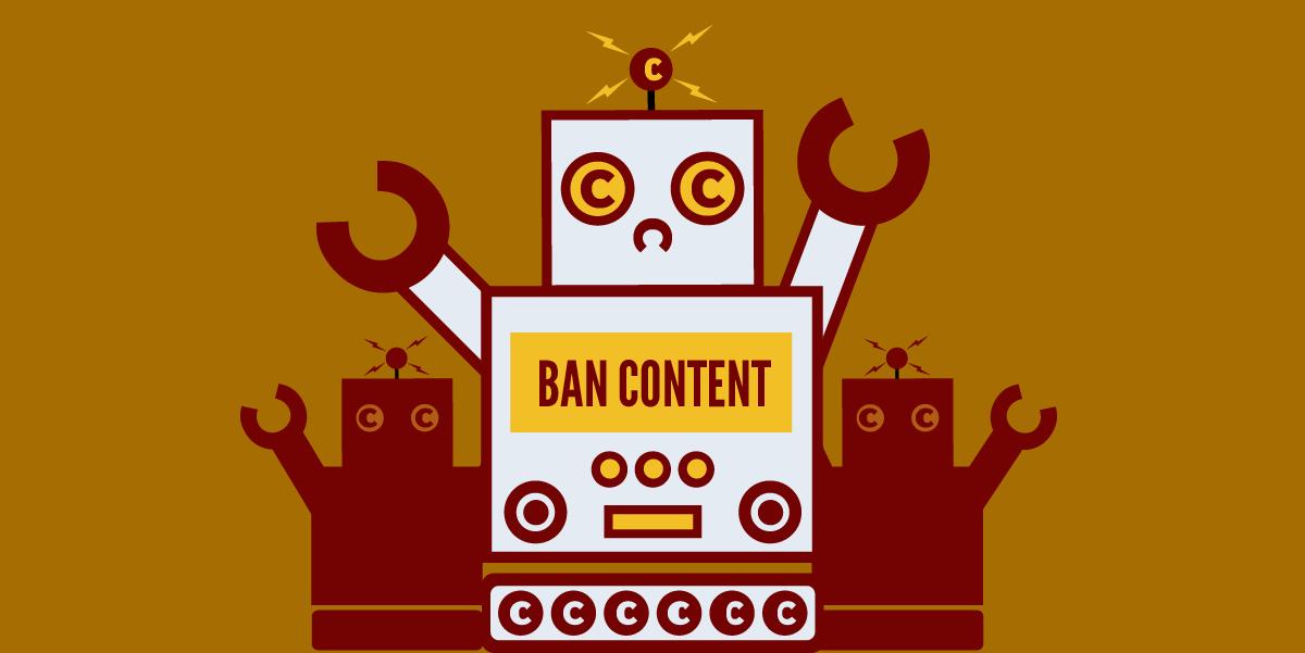 Ban content