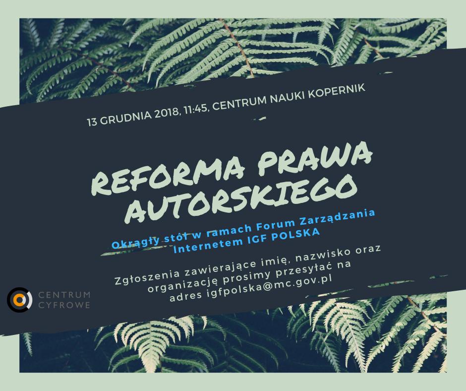 REFORMA PRAWA AUTORSKIEGO (1)