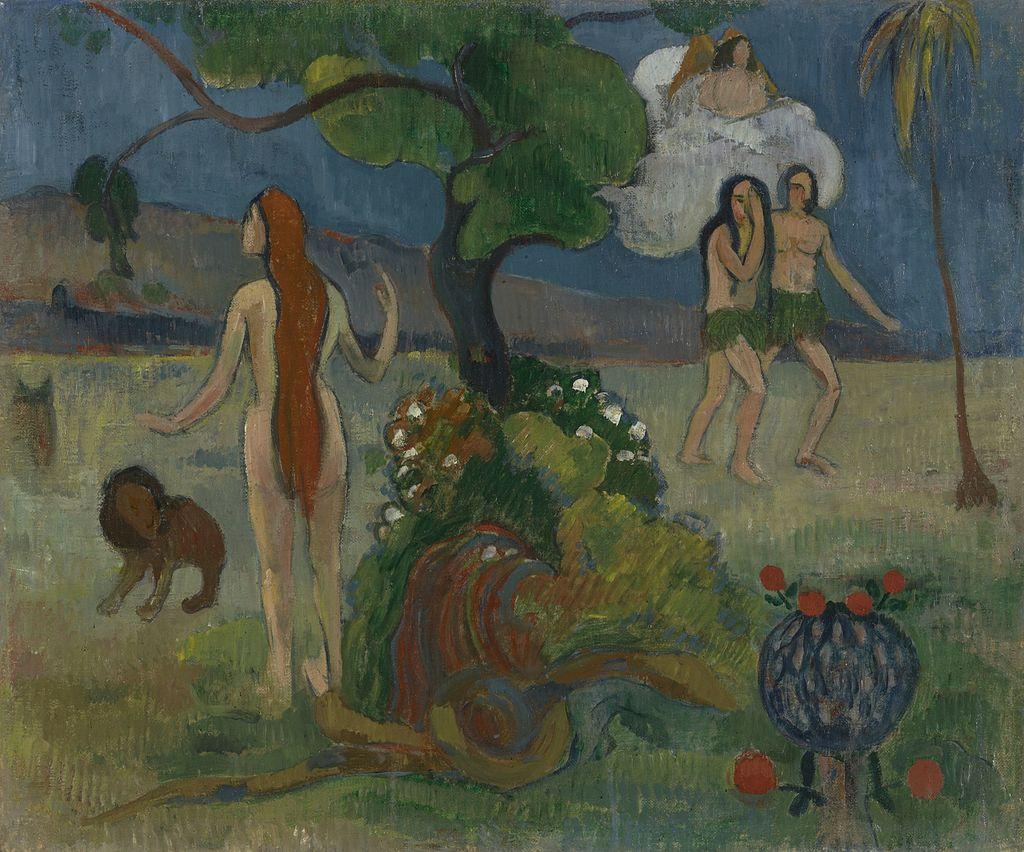 Paul Gauguin Le Paradis Perdu (ca.1890)