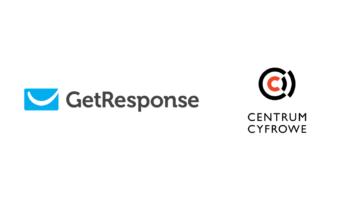 logo GetResponse i Centrum cyfrowego
